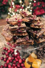 My favorite holiday toffee from sweetbricks - cranberry citrus :D