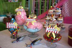 candy tables carnval | Bonne Nouvelle: The Carnival Party
