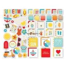 Simple Stories | Simple Stories Summer Sn@p!; Insta Squares & Pieces | Scrapdelight Scrapbookwinkel