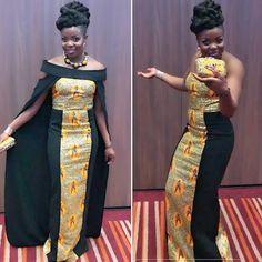 The Adwoa Cape Set and Matching Biola Clutch is Now Available to Order Online. Www.stylesafrik.co.uk #Africanprintdress #ankaraprintstyles #ankaradesigns #tailormeuk #akwaabauk #africanprintdress #slay #slayed #bridesmaiddresses #jumpsuit #ankara #flowergirl #Africanprintjacket #capedress #wagsofmiami #tailoredsuit #fashionbloggers #ocassionwear #akwaabauk #redcarpet #mensblazer #blackgirlsrock #blackgirlmagic #africanclothing @owambeuk #blackpanther #blackpantherpremiere #weddingdress…
