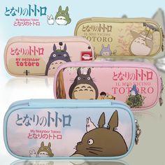 Mi Vecino Totoro Pen Lápiz Funda Estacionario bolsa bolsa bolsa de maquillaje