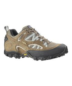 Take a look at this Canteen & Dark Celadon A/C GORE-TEX Drifter Hiking Shoe by Patagonia on #zulily today!