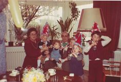 At opa's & oma's house in Rotterdam. Celebrating a party! Rotterdam, Thats Not My, Crown, Celebrities, Party, House, Jewelry, Fashion, Moda