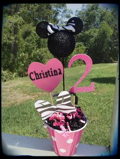 Minnie Mouse Party Decor Idea. #minnie #mouse #birthday