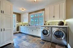 Would love a laundry/mud room like this one! Mud Rooms, Laundry Rooms, Amazing Houses, Life Magazine, Home Goods, Room Ideas, New Homes, Barn, Home Appliances