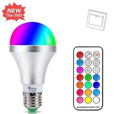 NetBoat Bombillas de Colores LED E27 10W,LED Bombilla Regulable 12 Color,con 21 llave Mando a Distancia,Función de Memoria Dual,para Decoración para el hogar Bar Partido KTV Etapa Efecto luces #NetBoat #Bombillas #Colores #W,LED #Bombilla #Regulable #Color,con #llave #Mando #Distancia,Función #Memoria #Dual,para #Decoración #para #hogar #Partido #Etapa #Efecto #luces