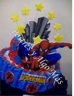 Torta del Increible Hombre Araña - Cake The Amazing  Spiderman