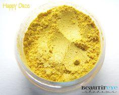 Happy Daze Loose Mineral Eyeshadow 3 gram jar via Etsy