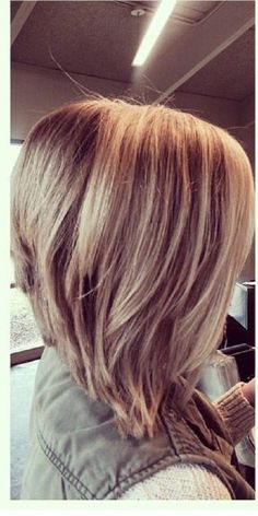 Long Stacked Bob Haircuts