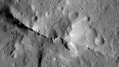 Descubren que la superficie de Ceres está «repleta» de materia orgánica.