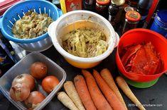 Zacusca de vinete - reteta mamei mele | Savori Urbane Chicken Wings, Meat, Food, Health Foods, Essen, Meals, Yemek, Eten, Buffalo Wings
