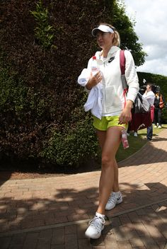 Maria Sharapova Photos: The Championships - Wimbledon 2014: Middle Sunday. Maria Sharapova of Russia leaves Aorangi park after practice on the Middle Sunday of the Wimbledon Lawn Tennis Championships at the All England Lawn Tennis and Croquet Club on June 29, 2014 in London, England.