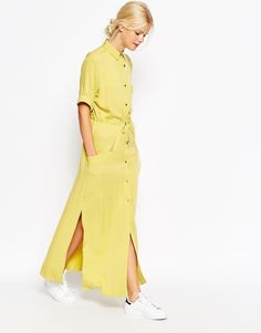 Image 1 - ASOS - Robe chemise casual coupe longue