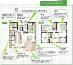 Plan Sketch, Japanese House, House Layouts, House Plans, Sweet Home, Floor Plans, Exterior, House Design, Flooring