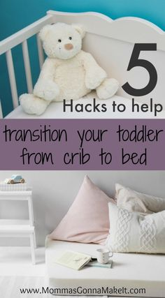 5 Hacks To Transition Your Toddler From Crib Bed