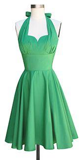 Trashy Diva Varga Dress cg-d9662-greenpoplin