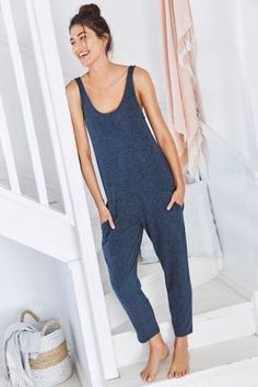 A jumpsuit that's pyjamas, whaaaat?! Now THAT is what we call comfort.