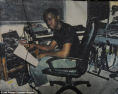 Before he was famous: A young Kanye West is seen in childhood snaps as he's described as an ambitious 'small kid' who predicted his success in high school Kanye West, Dream Music, Music Is Life, Home Recording Studio Setup, City Dance, Studios, Hip Hop Art, Old Music, Record Collection
