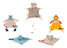 La collection Les Papoum compte différents doudous : des attaches-tétine, des langes... Vous pouvez tous les retrouver sur notre site http://www.jeujouet.com/moulin-roty-les-papoum Ils savent se faire adopter par bébé ! #Doudous #LesPapoum #MoulinRoty #Jeujouet