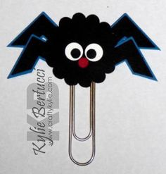 Stampin' Up Spider Punch Art Bookmark Kit by iluvstampinup on Etsy, $4.00