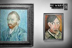 Примеры некоторых из ведущих мировых рекламных кампаний и другие маркетинговые коммуникации музеев. | теория
