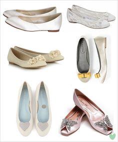 #Bridal #Flats #Wedding #Shoes Mood Board from The Wedding Community