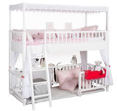 Jugendzimmer design mädchen mit hochbett  kinderzimmer für mädchen hochbett design mit rutsche - Hochbett ...