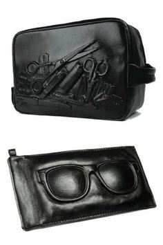 necessaire and sunglasses case