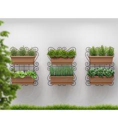 Super Kit Horta Vertical Jardim Suspenso 80x60
