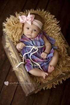 Landrie's 3 Month Session – Knoxville, TN Portrait Photography Studio