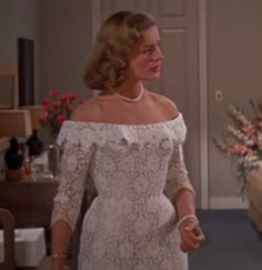lauren bacall how to marry a millionaire wedding dress - Google Search