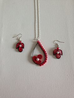 Quilling Jewelry on Etsy, $20.00