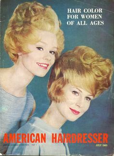Lot of Three Vintage American Hairdresser by OldBookSmell on Etsy, $25.00