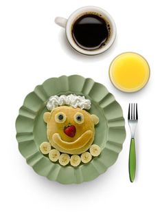 """""""Saturday Morning, Fred Made a Pancake Breakfast for Richie…& Not Just Any Ordinary Pancakes…Banana, Blueberry, Strawberry & Whipped Cream Pancakes, Plus Orange Juice…""""And Here's Your Coffee, My Man…Black, Just the Way You Like it""""…""""Daddy!"""""""" by maggie-johnston ❤ liked on Polyvore featuring art"""