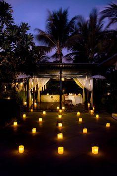 Romantic dinner.....