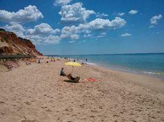 Falesia Beach Albufeira, Portugal