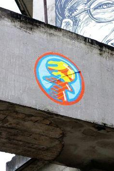 Paris 11 - quai de Valmy - usines éphémères - street art