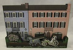 Beautiful wooden collectible from Shelia's Collectibles. Features Charleston, SC and East Bay. Made in the USA!