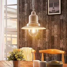 Maritime pendant light Lars in satin Style Rustique, Lamp Light, Wall Lights, Lighting, Pendant, Satin, House, Home Decor, Transitional Chandeliers