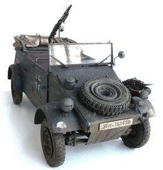 """Here are some images of ESCI's 1/9 scale Volkswagen Typ 82 Kübelwagen. From Wikipedia"""" The Volkswagen Kübelwagen (litera..."""