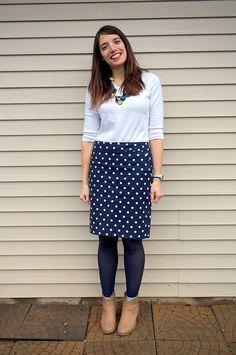 Polka Dot Skirt | Style On Target