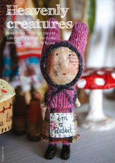 "A post with pictures on Sam's Notebook Blog and a feature in ""Making"" magazine about Julie Arkell"