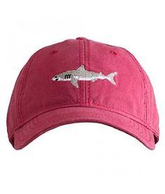 99df23f4 Harding Lane Shark Hat on Red by Harding Lane from THE LUCKY KNOT - 1 Shark