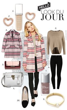 Look Du Jour: Think Pink Coat