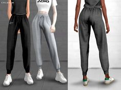 ChloeM-Sports Pants for The Sims 4 The Sims 4 Pc, Sims Four, Sims Cc, Tsr Sims 3, Sims 4 Mods Clothes, Sims 4 Clothing, Sims 4 Game Mods, Sims 4 Dresses, Sims4 Clothes