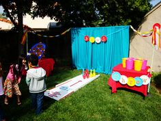 Halloween Carnival Booth Ideas | use carnival where to flag pennants foot traffic cones carnival