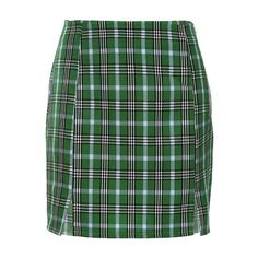Mini, skater, denim and more. Shop Own Saviour's latest skirts. Green Plaid Skirt, Plaid Mini Skirt, Plaid Skirts, Mini Skirts, Short Pencil Skirt, Plaid Fashion, Aesthetic Clothes, Aesthetic Shop, Skirt Outfits