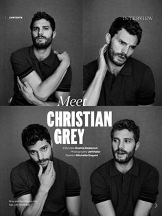 The many faces of Jamie Dornan (Christian Grey)!! http://the50shadesofgreypdf.org/jamie-dornan-appears-in-a-picture-with-the-hoc-producer/
