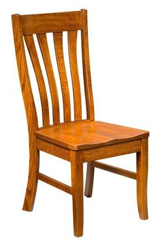 Amish Vista Side Dining Chair - Quick Ship