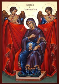 Many beautiful pictures of Our Lady for May Religious Images, Religious Icons, Religious Art, Church Icon, Images Of Mary, Blessed Mother Mary, Biblical Art, Byzantine Icons, Orthodox Christianity